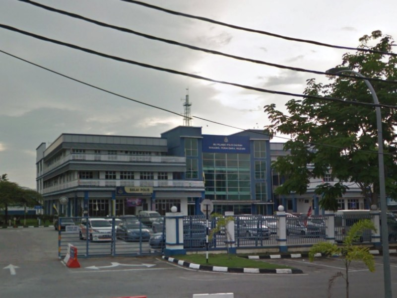 Manjung District Police Headquarters in Perak, Malaysia. Photo: Google Maps
