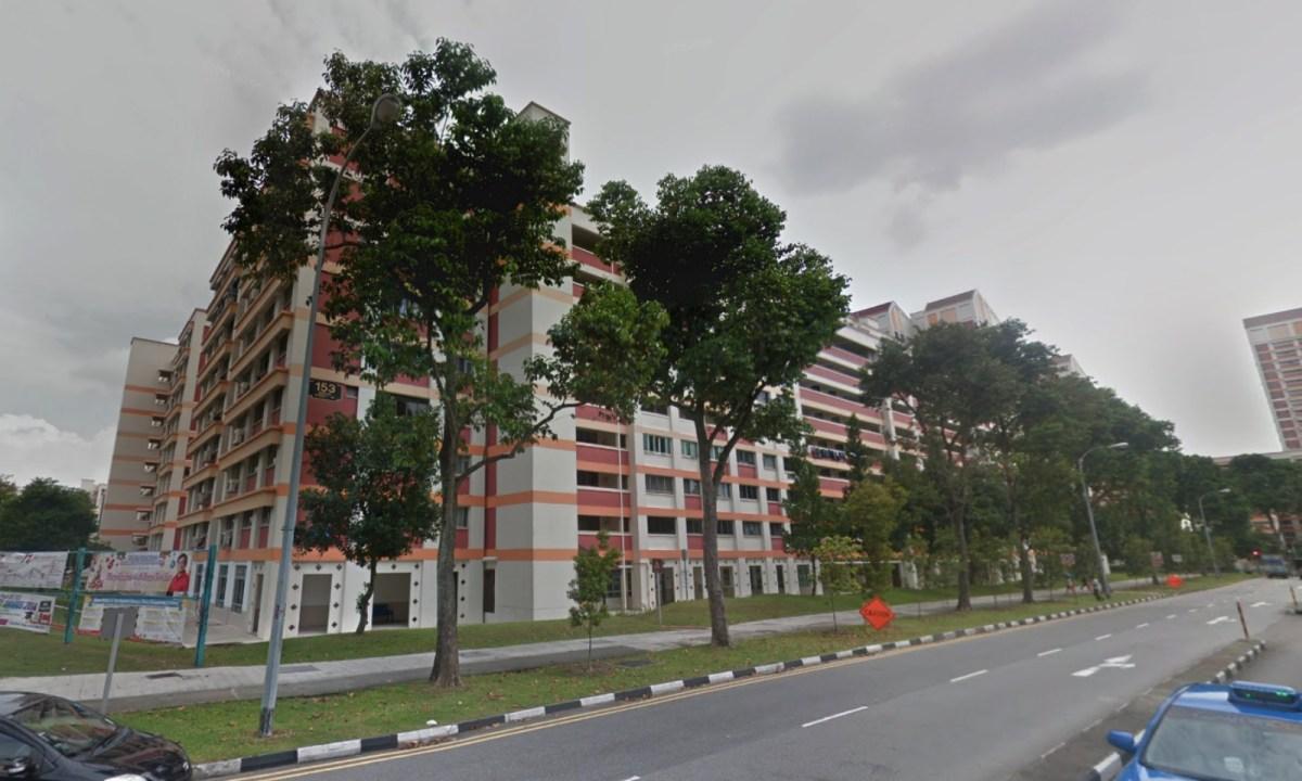 Block 153 on Bishan Street 13 in Singapore. Photo: Google Maps