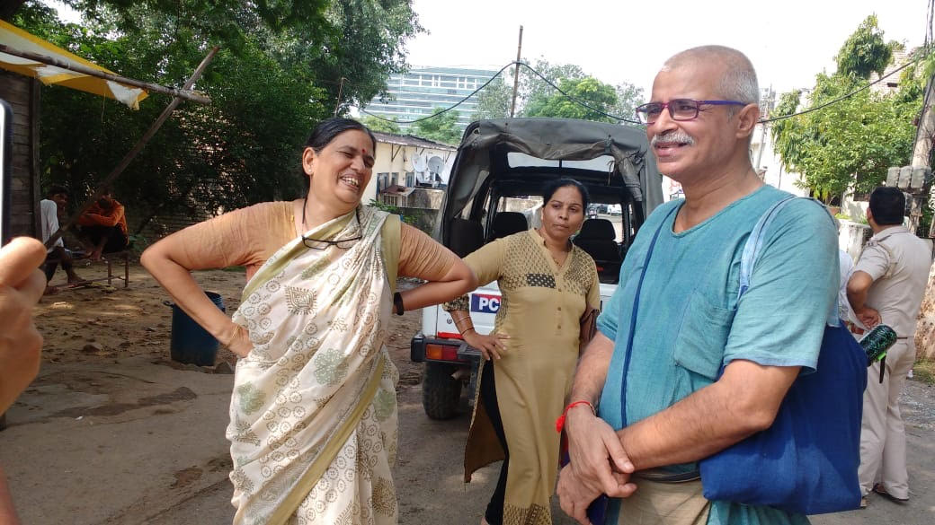 Lawyer and human rights activist Sudha Bharadwaj, before she was arrested by the Pune police, leading to outrage across India. Photo: Courtesy Varsha Torgalkar
