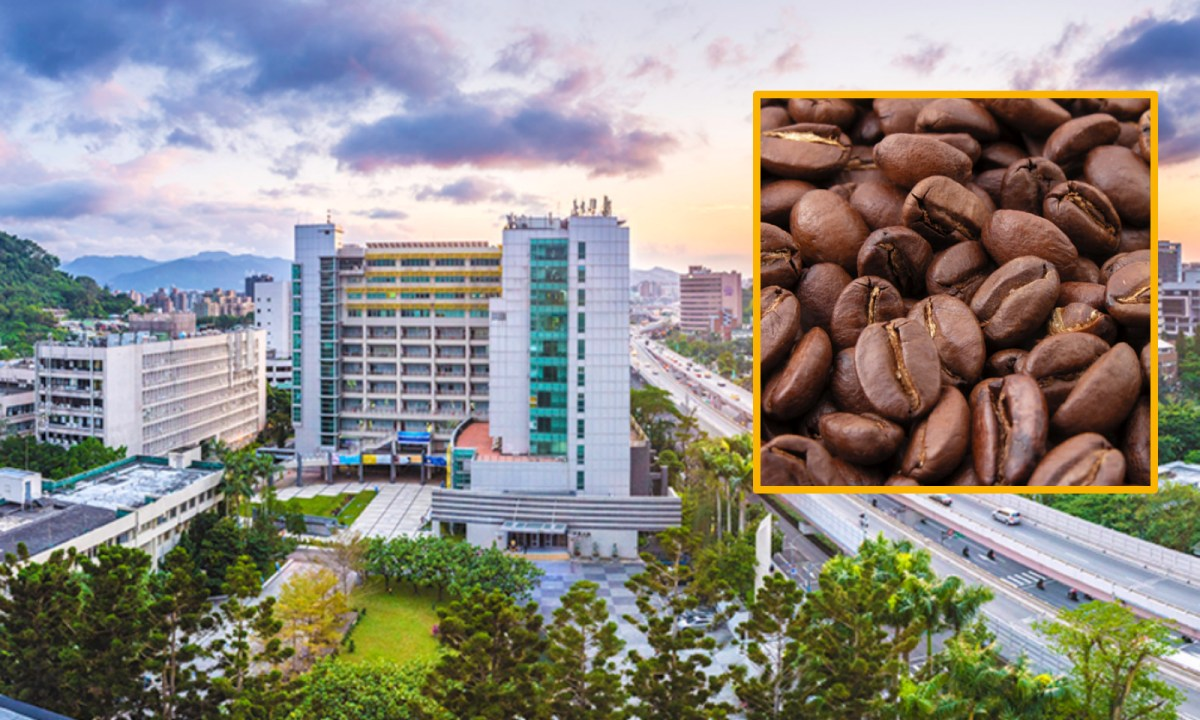A Vietnamese student plans to import coffee beans from her home country. Photo: National Taiwan University of Science and Technology, Wikipedia