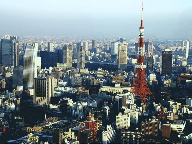 Tokyo, Japan. Photo: Wikimedia Commons