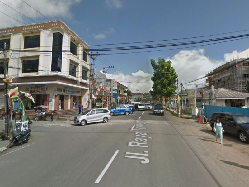 Tomohon in North Sulawesi, Indonesia. Photo: Google Maps