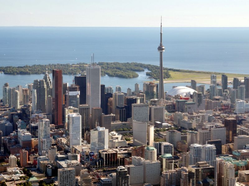 Toronto, Canada. Photo: Wikimedia Commons, Taxiarchos228