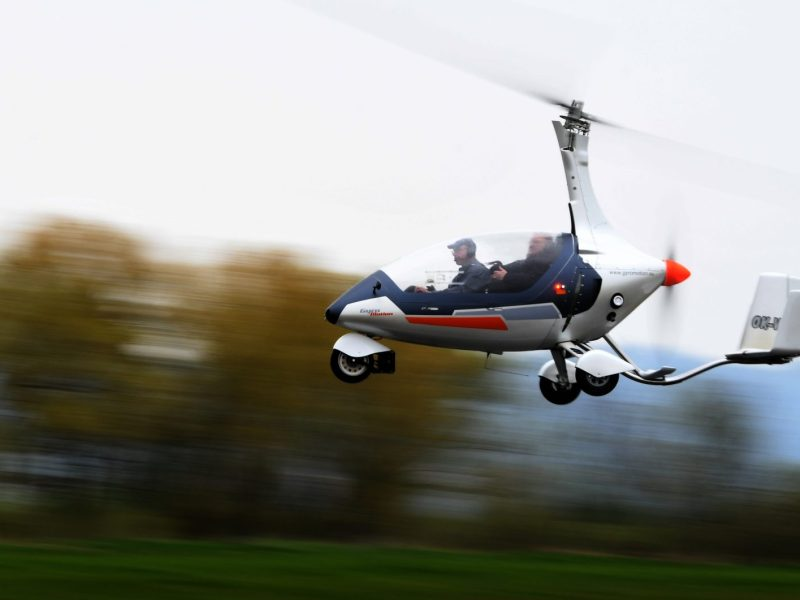 Flying cars, like this one in the Czech Republic, may soon become viable in Japan, where a large consortium is involved in making them a regular feature in the skies. Photo: AFP/Michal Cizek