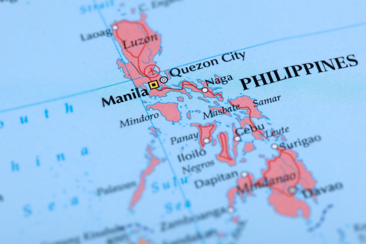 Map of the Philippines: iStock