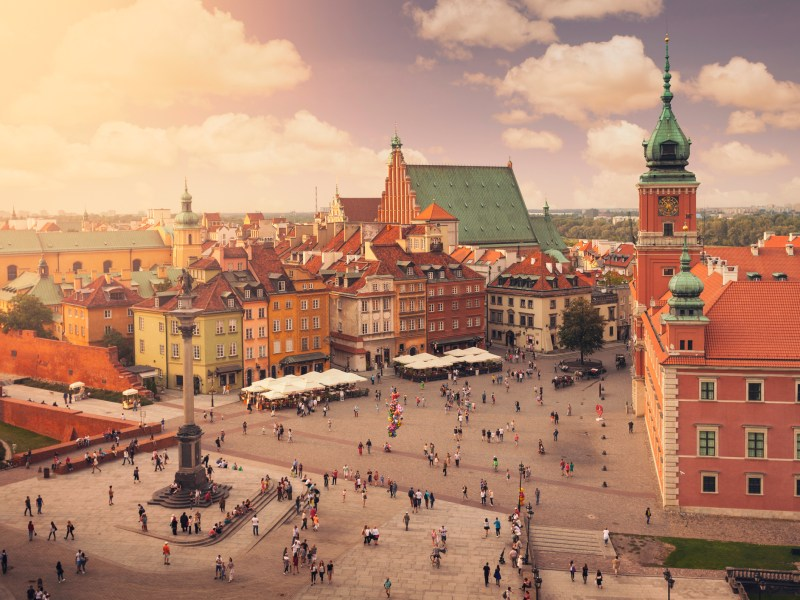 Warsaw, Poland. Photo: iStock