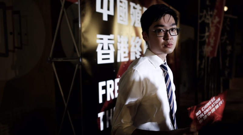 Andy Chan and his Hong Kong National Party are now back in focus. Photo: Handout