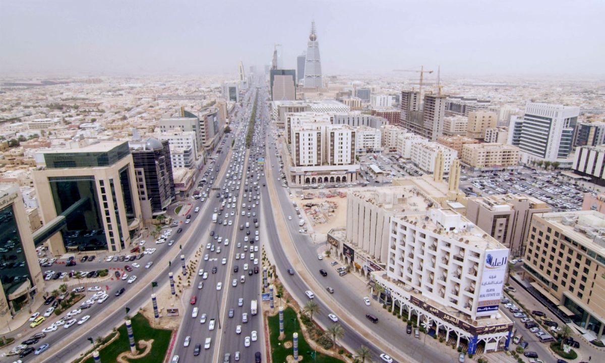 Riyadh, Saudi Arabia. Photo: Wikimedia Commons, or	Ville Hyvönen
