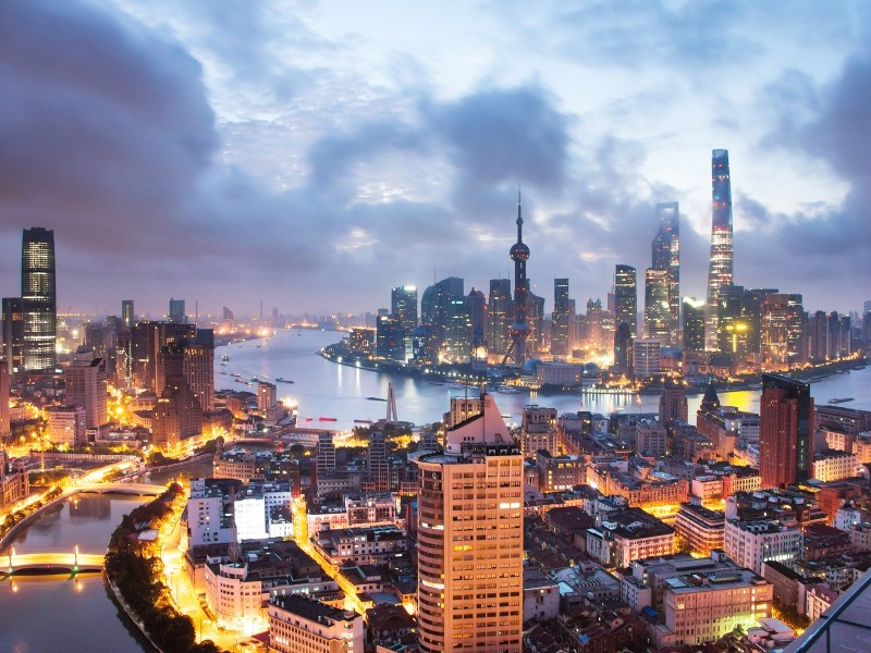 Shanghai is China's largest city in terms of population, built-up area and GDP. Photo: Xinhua