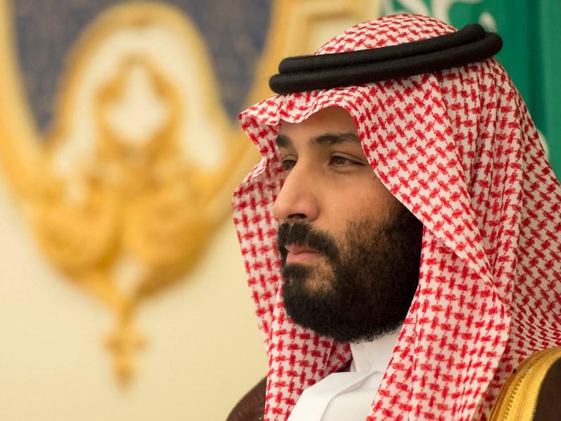 ولي العهد السعودي الأمير محمد بن سلمان . صورة: القصر الملكي السعودي via AFP/Bandar al-Jaloud
