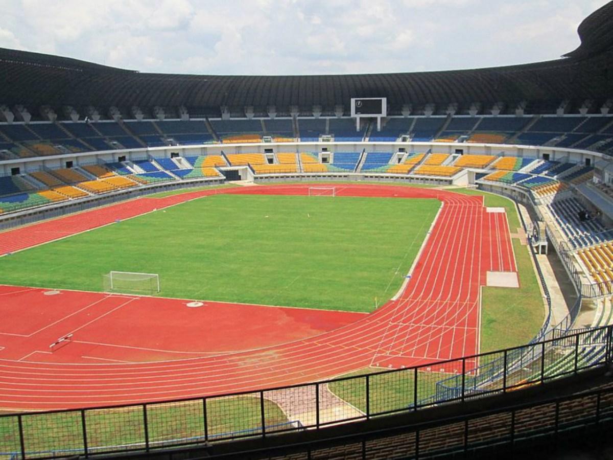 The Gelora Bandung Lautan Api Stadium. Photo by Wikipedia