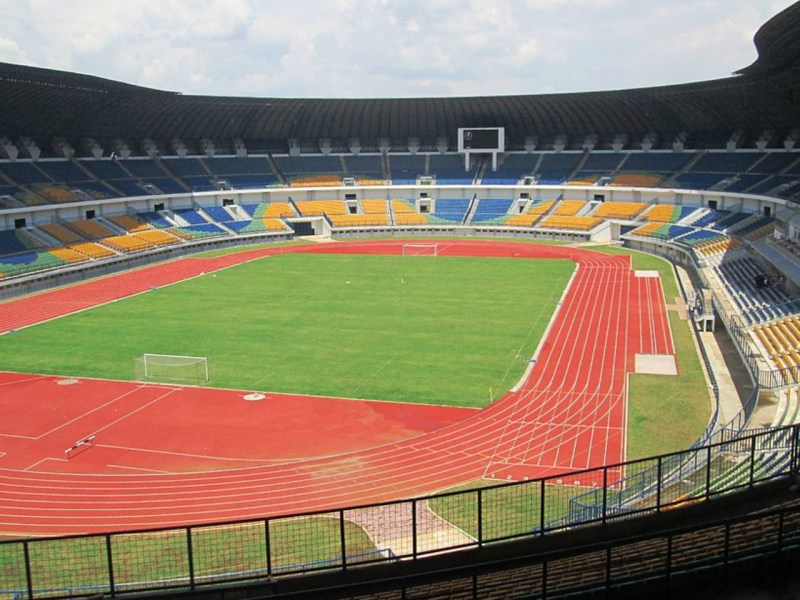 The Gelora Bandung Lautan Api Stadium. Photo by Wikipedia