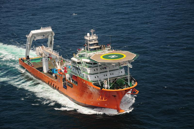 The Shenqian, currently the most advanced deep-sea salvage and exploration ship in service with the Chinese Ministry of Transportation. Photo: Xinhua