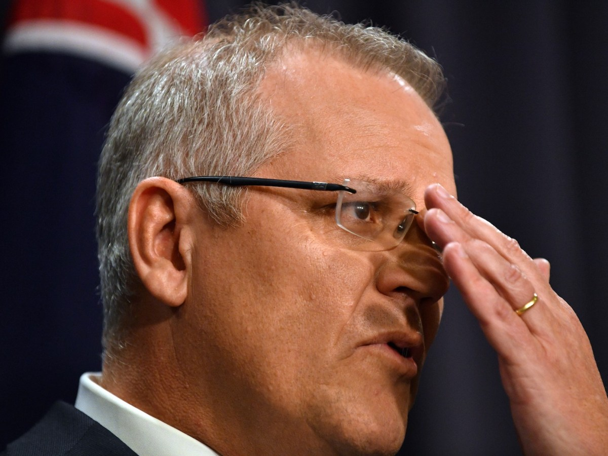 Australia's incoming Prime Minister Scott Morrison speaks at a press conference in Canberra on August 24, 2018.Photo: AFP/Saeed Khan