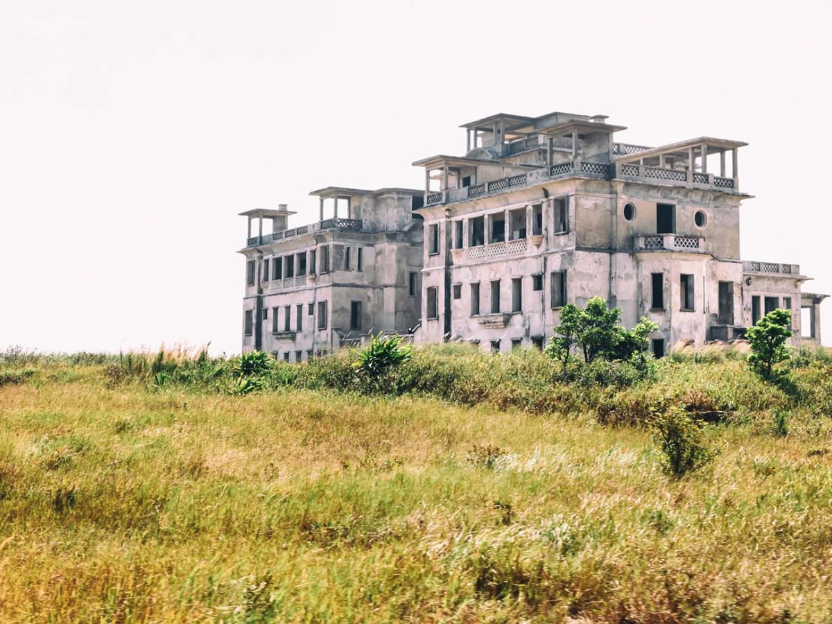 The Bokor Palace hotel in Bokor Hill station near the town of Kampot, Cambodia, in 2015 before renovations. Photo: iStock