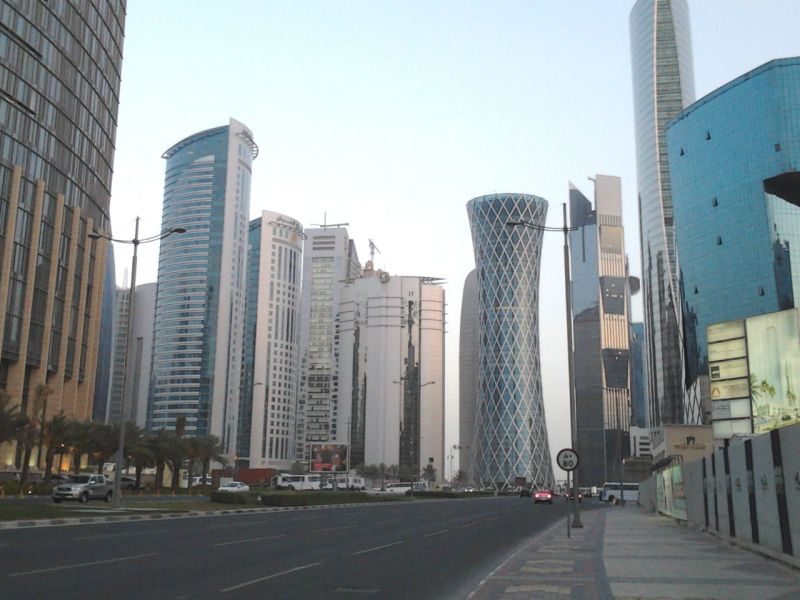 Doha, capital of Qatar. Photo: Wikimedia Commons