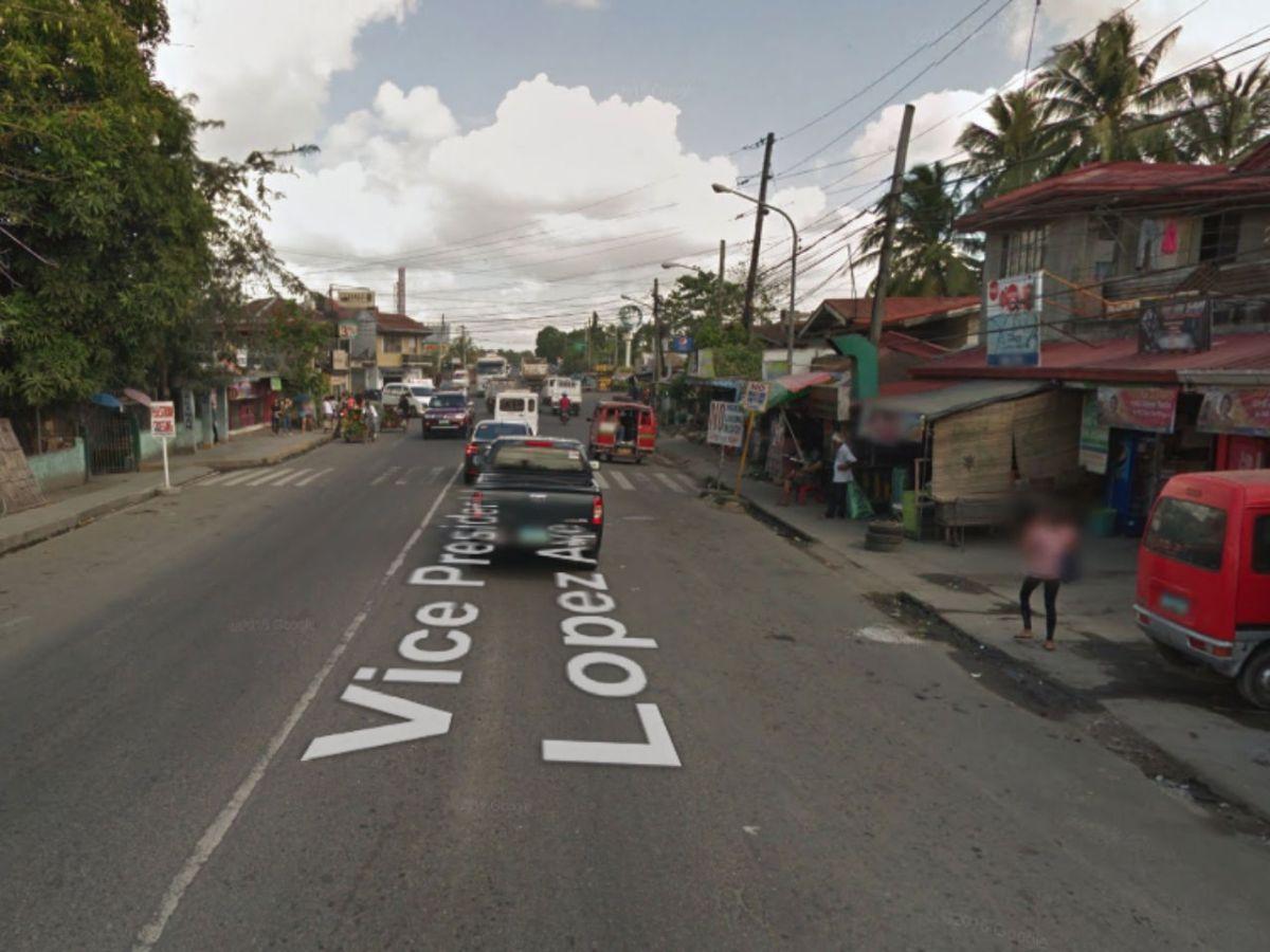Pavia, Iloilo in the Philippines. Photo: Google Maps