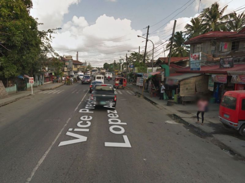 Pavia, Iloilo in the Philippines. Photo: Google Maps