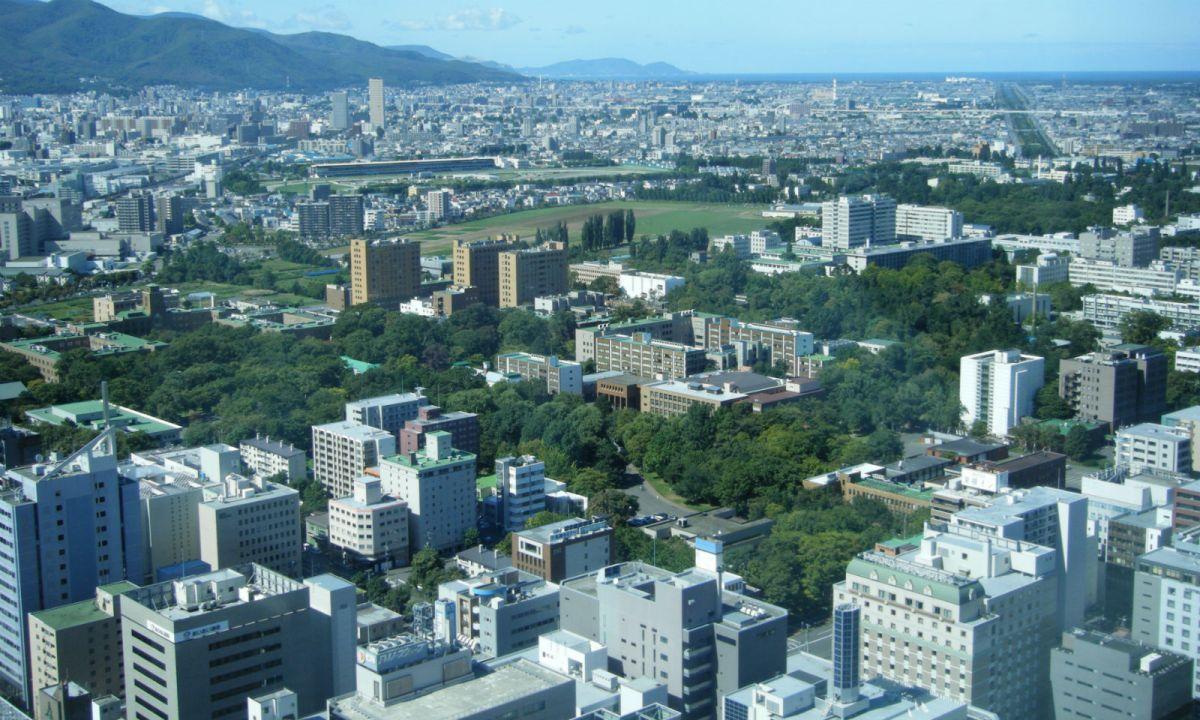 Sapporo City in Hokkaido, Japan. Photo: Wikimedia Commons.