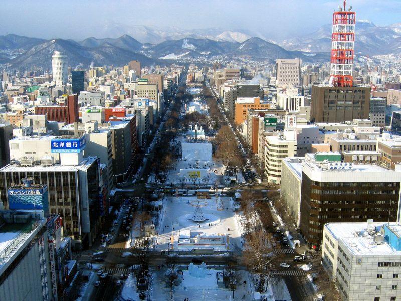 Sapporo, Hokkaido, Japan. Photo: Wikimedia Commons