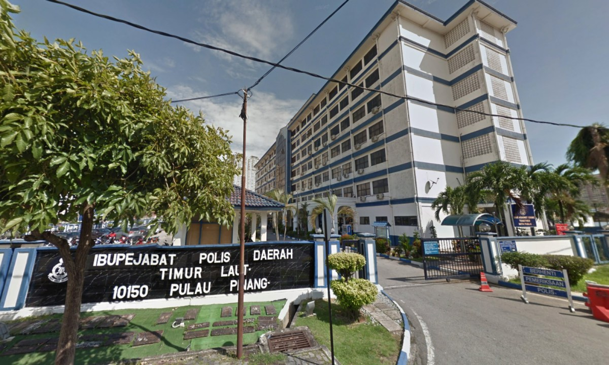 The North-East District Police Headquarters in Penang, Malaysia. Photo: Google Maps