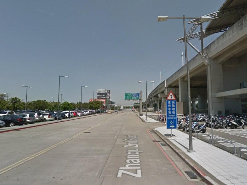 The carpark at Wuri station, Taichung, Taiwan. Photo: Google Maps