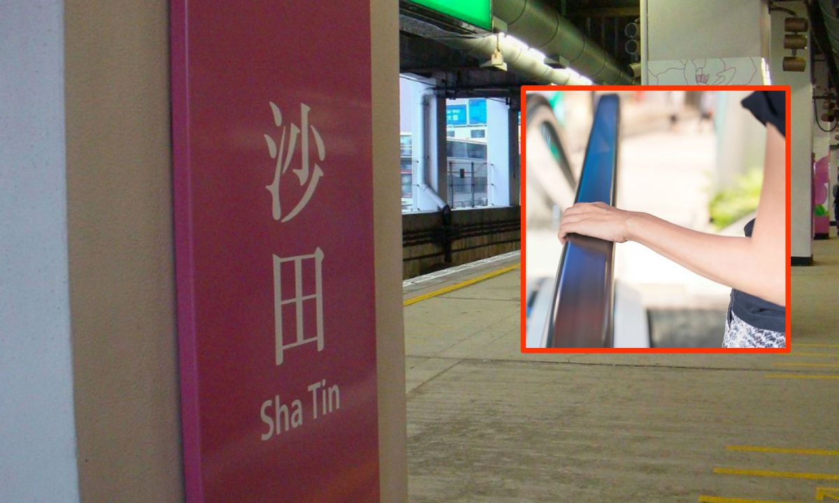 Sha Tin MTR station, the New Territories Photo: Wikimedia Commons, Qwer132477, iStock