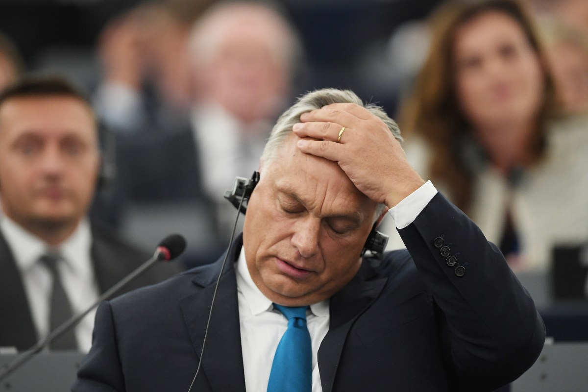 Under Prime Minister Viktor Orbán, Hungary has become increasingly authoritarian. Photo: AFP/Frederick Florin