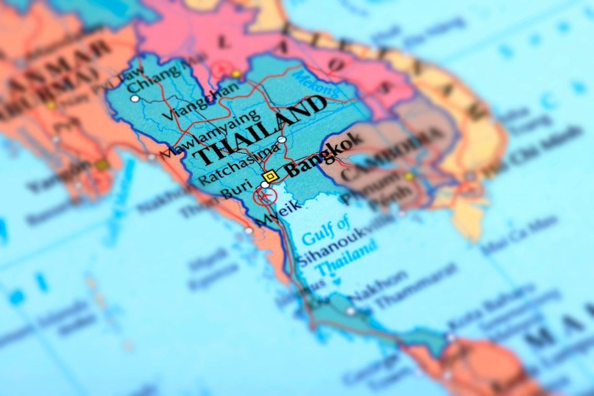 Map of Thailand: iStock
