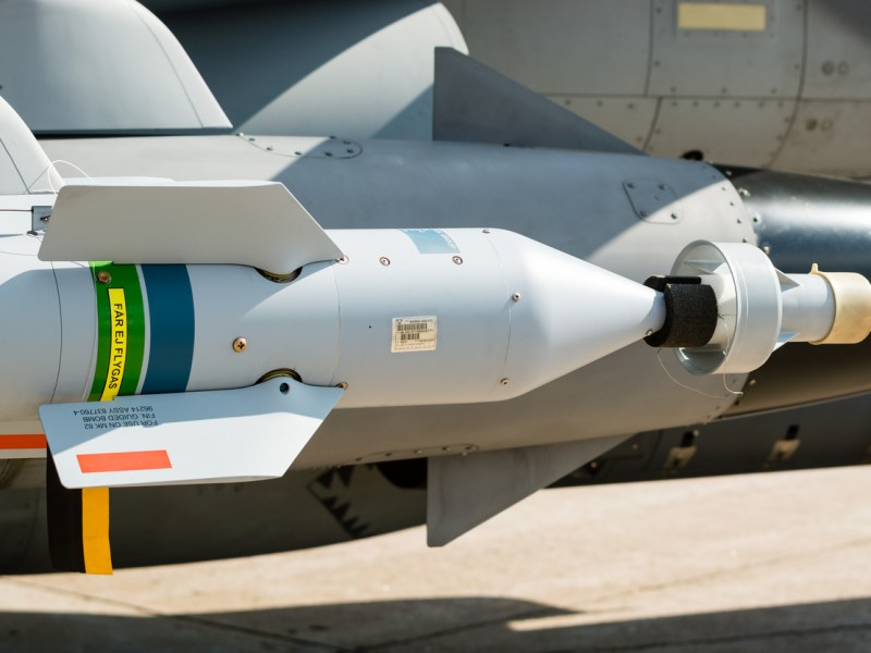 A laser-guided bomb. Representational image: iStock