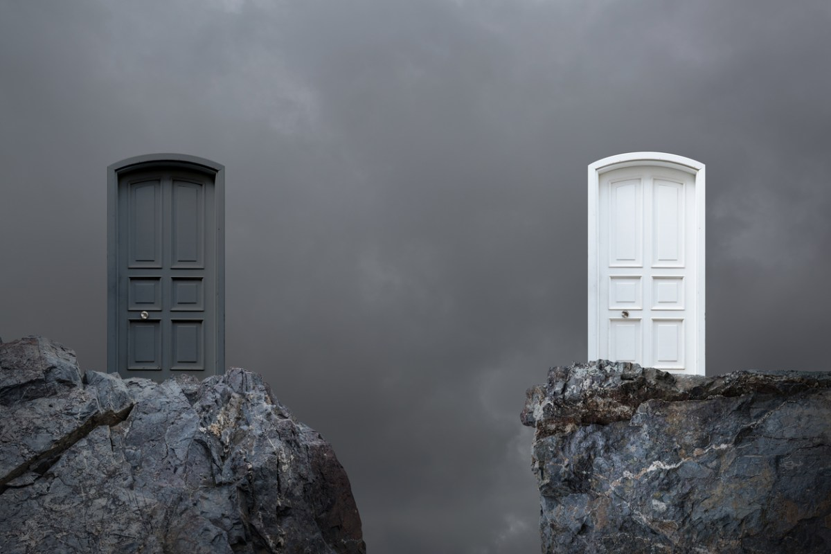 Good and evil. Image: iStock