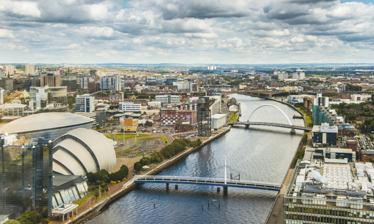 Scotland has seen a rise in slavery cases in recent years. Photo of Glasgow by iStock.