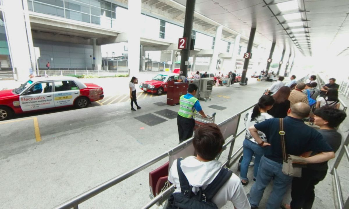 Hong Kong International Airport. Photo: Google Maps