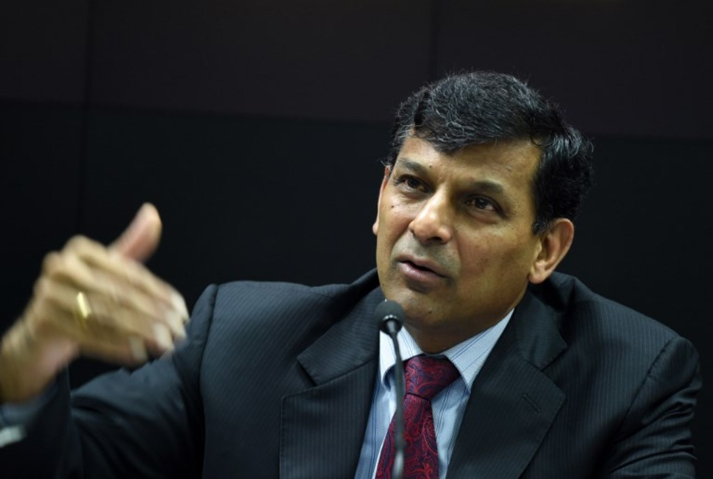 Former governor of Reserve Bank of India Raghuram Rajan. Photo: AFP