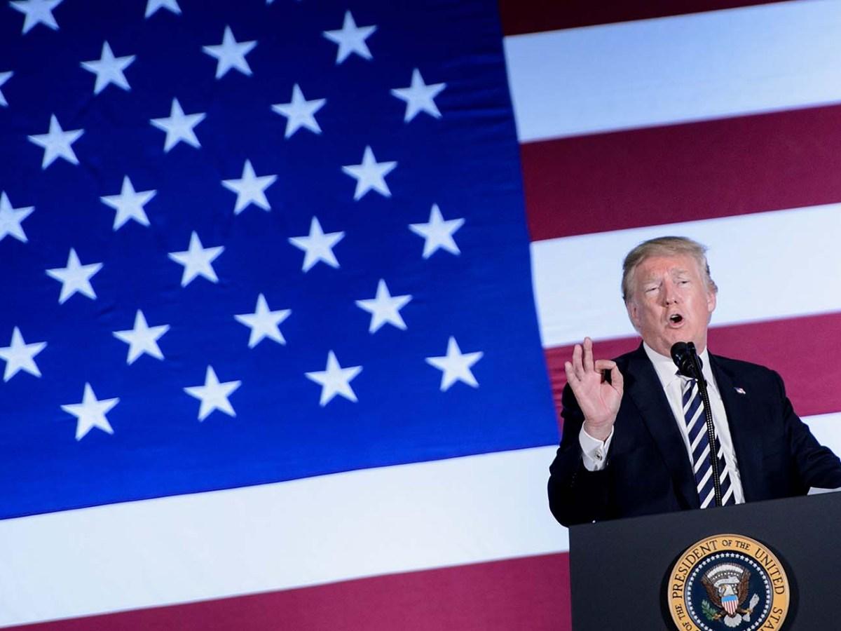 Donald Trump. / AFP PHOTO / Brendan Smialowski