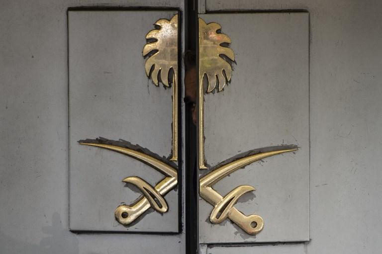 Saudi Arabia's consulate in Istanbul, where journalist Jamal Khashoggi was killed. Photo: AFP/ Yasin Akgul