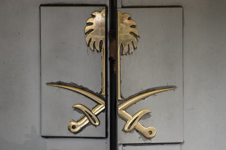 Saudi Arabia's consulate in Istanbul, where journalist Jamal Khashoggi was killed. Photo: AFP/ Yasin Akgul