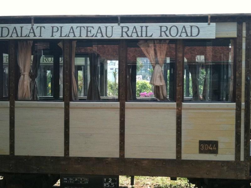The Thap Cham-Da Lat train. Photo courtesy of Wikipedia.