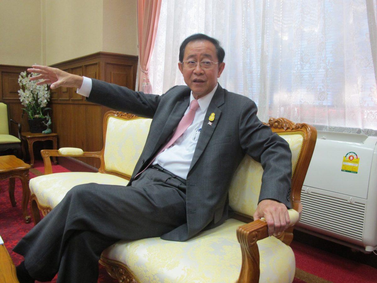 Thai Transport Minister Arkhom Termpittayapaisith. Photo: Peter Janssen