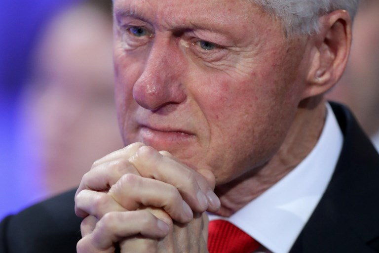 Former US President Bill Clinton, who was the event's keynote speaker, compared the emergence of blockchain with that of e-commerce in the late 90s. Photo: AFP