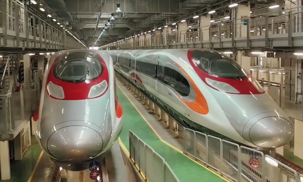 Express Rail Link in Hong Kong Photo: expressraillink.hk