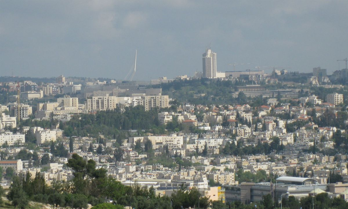 Jerusalem, capital of Israel. Photo: Wikimedia Commons