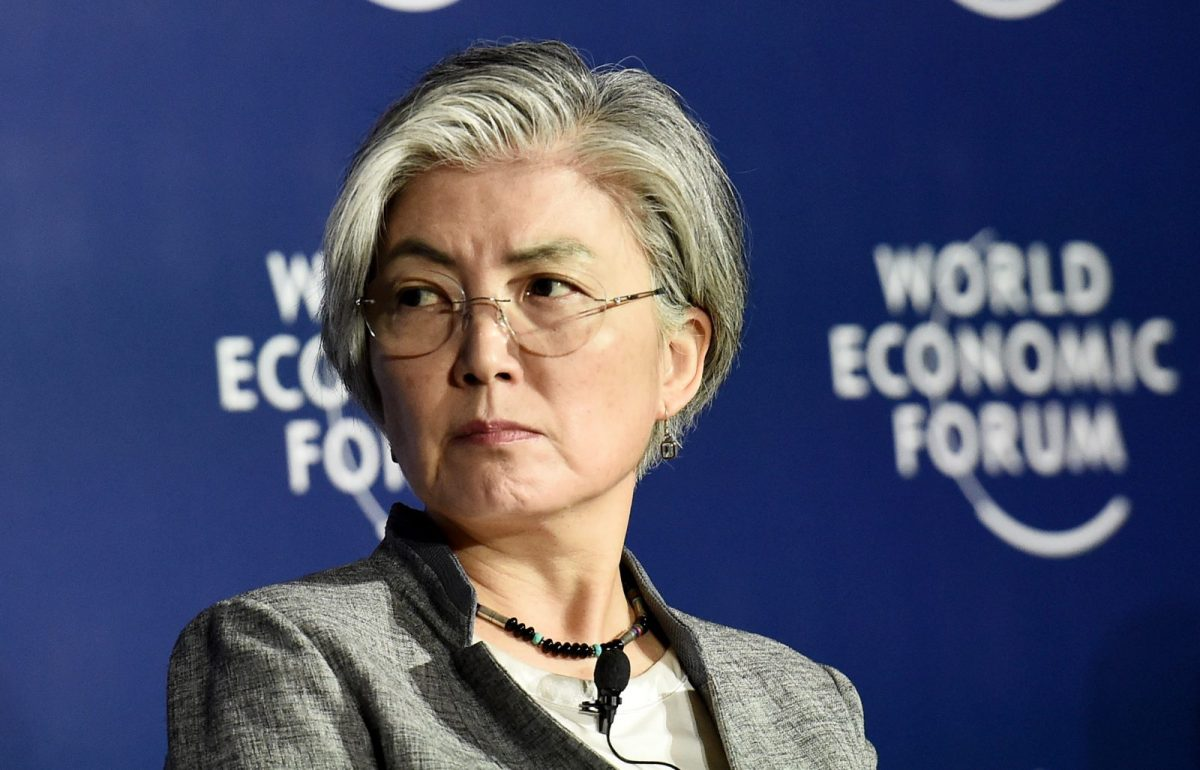 South Korea's Foreign Minister Kang Kyung-wha has been blasted and praised for her comments about sanctions and North Korea. Photo: AFP/Nhac Nguyen
