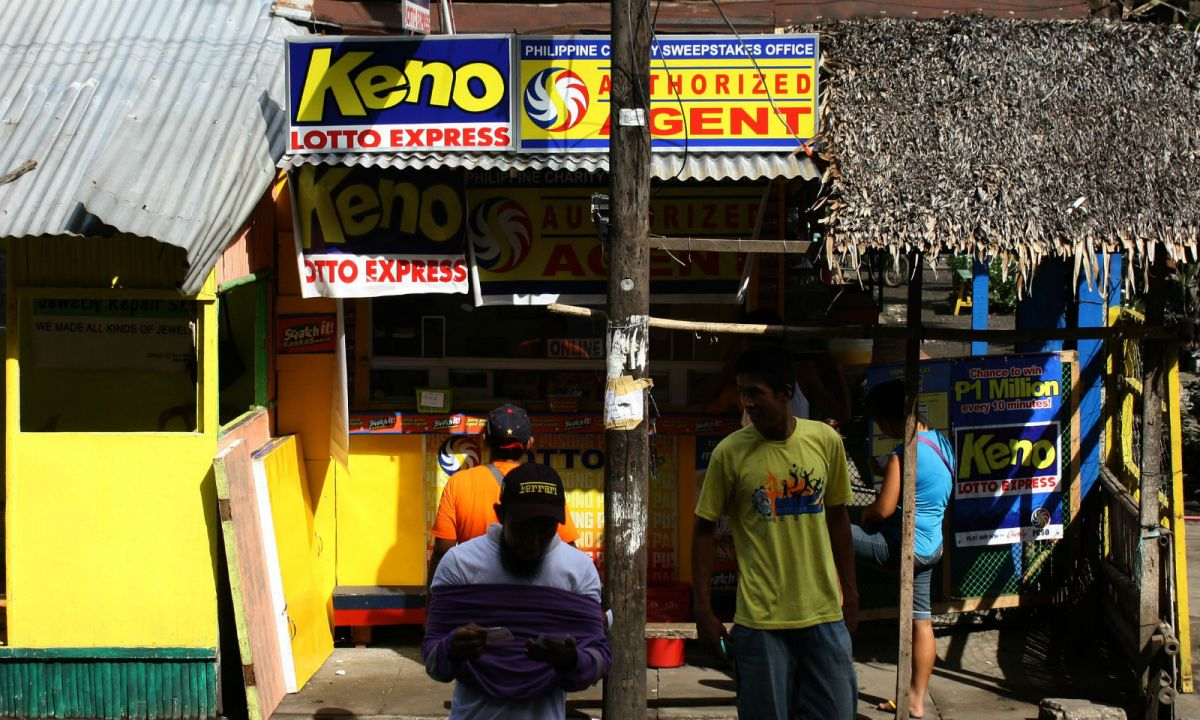 A lottery betting station in the Philippines. Photo: Wikimedia Commons