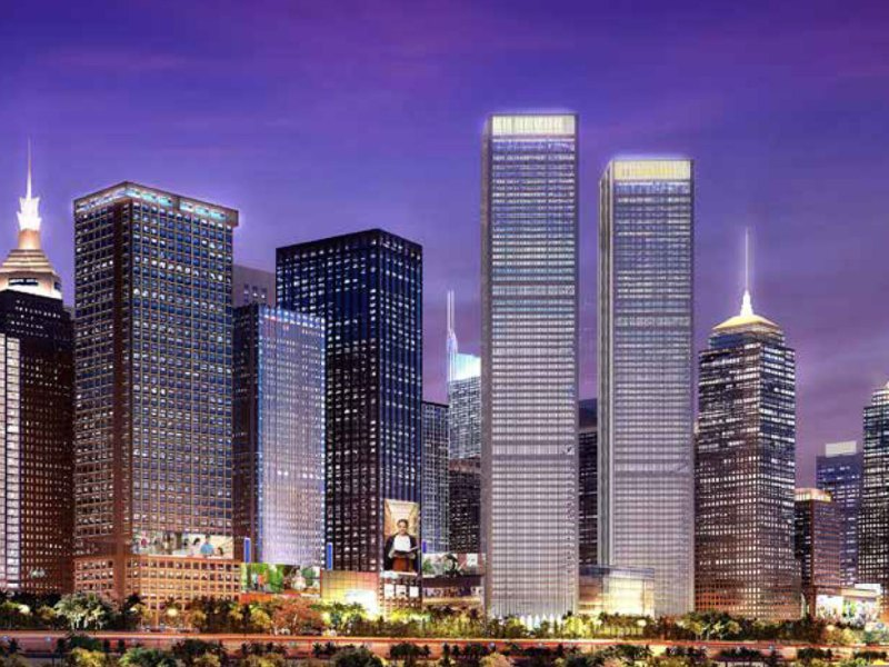 Construction is at a virtual standstill at the $20 billion Meikarta mega-project outside Jakarta. Photo: Company supplied