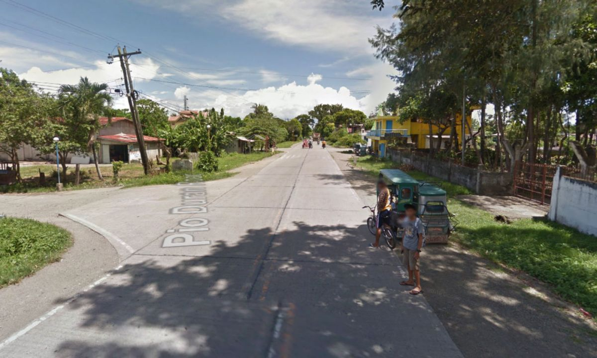 Pio Duran town in Albay, Philippines. Photo: Google Maps