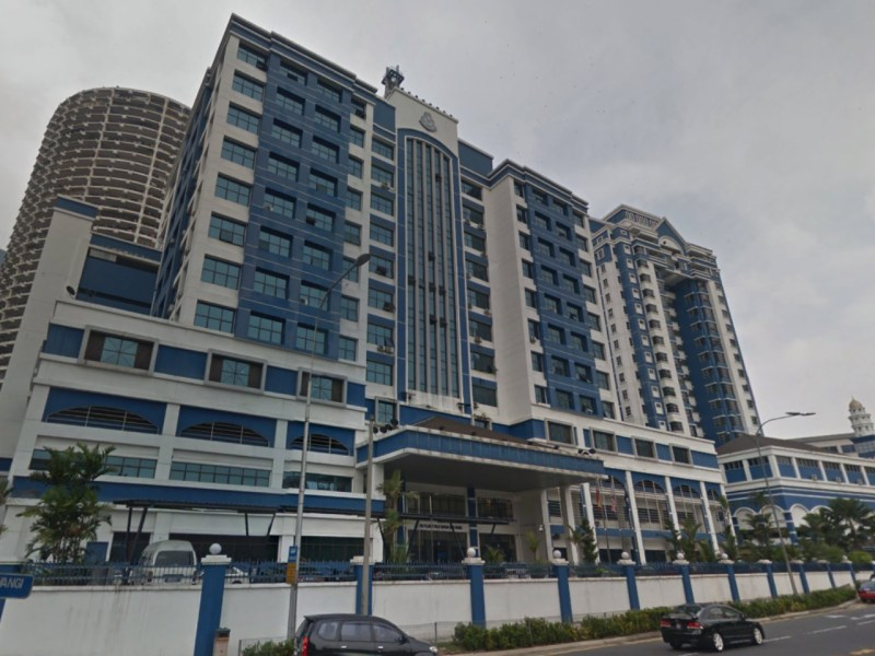 Dang Wangi District Police office in Kuala Lumpur, Malaysia. Photo: Google Maps