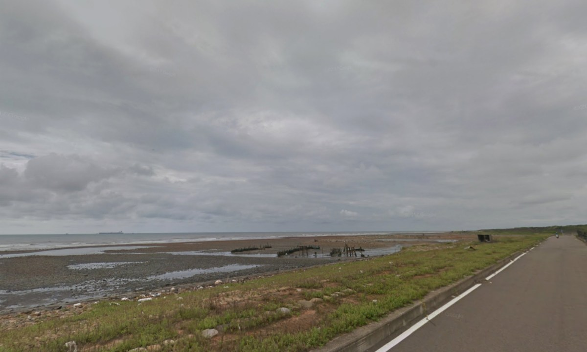 Taoyuan coast near Dayuan District, Taiwan. Photo: Google Maps