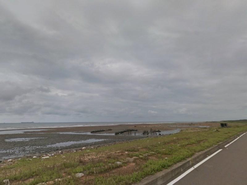 Taoyuan coast near Dayuan District, Taiwan. Photo: Google Maps
