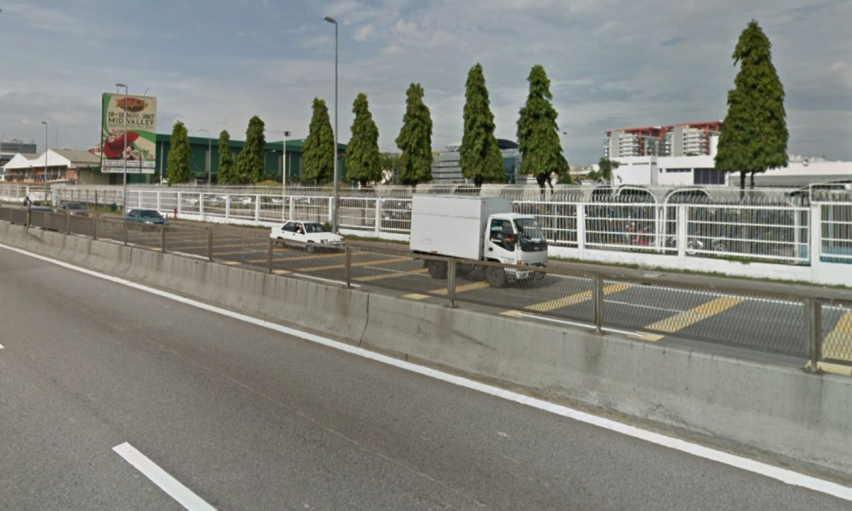 The Damansara-Puchong highway (LDP). Photo: Google Maps.